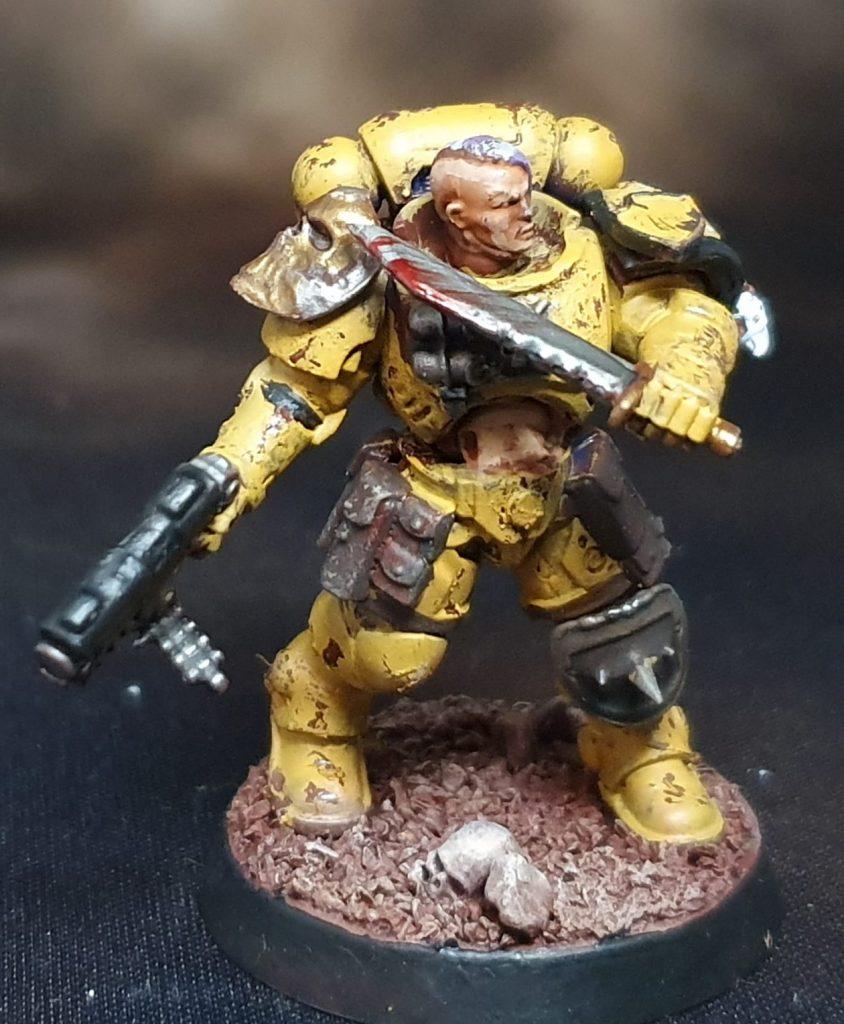 Imperial Fist Female Reiver