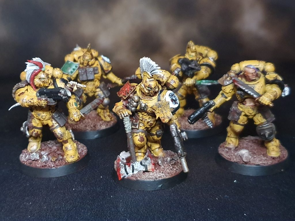 Imperial Fists Reiver Squad