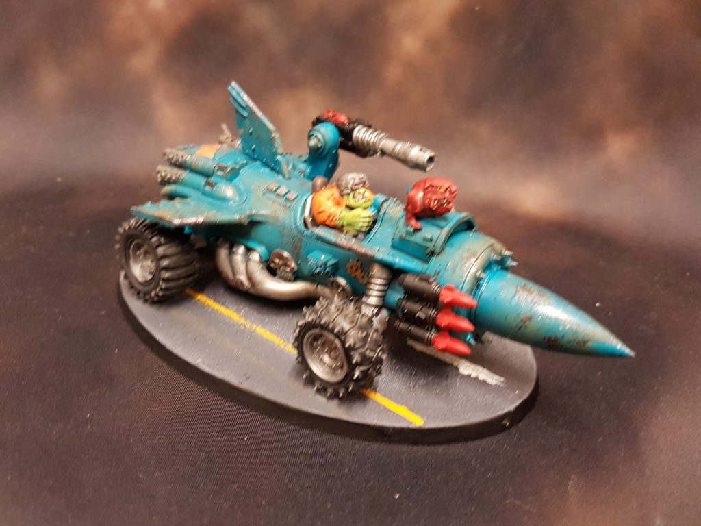 Ork Rocket Car