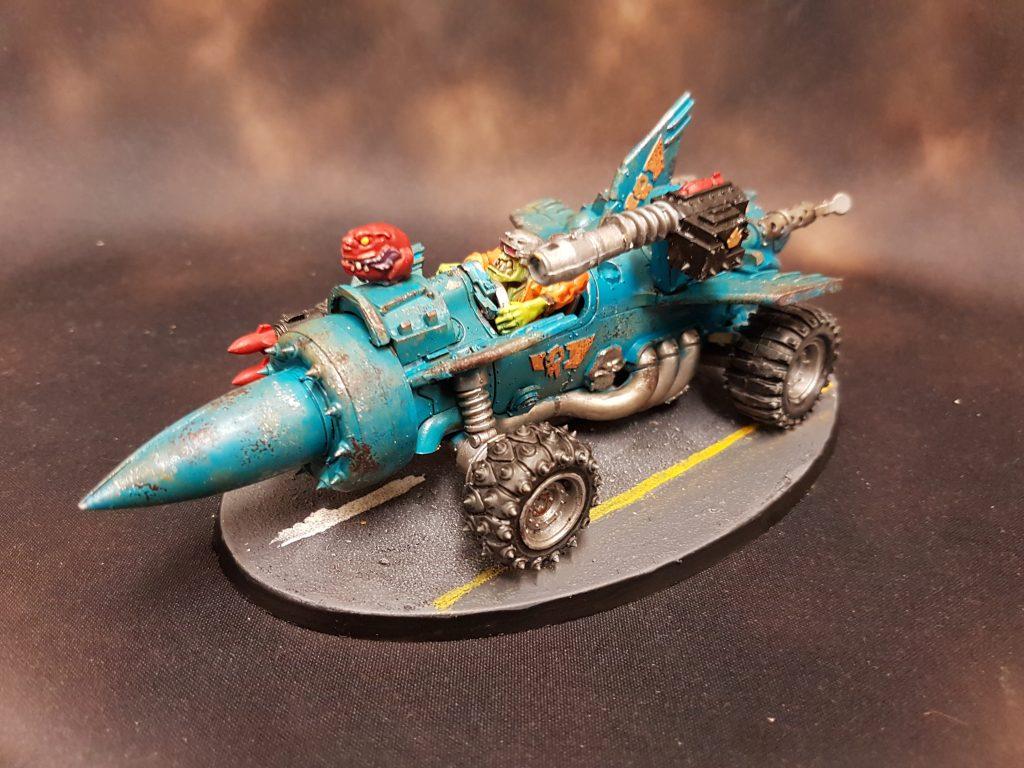 Ork Rokkit Car