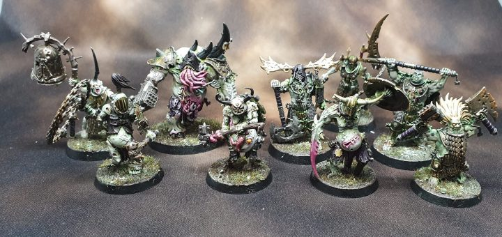 Painted Nurgle Iron Golems