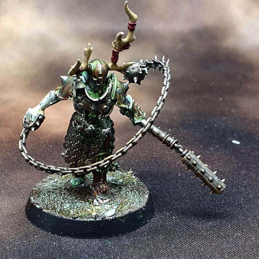 Painted Nurgle Iron Golem